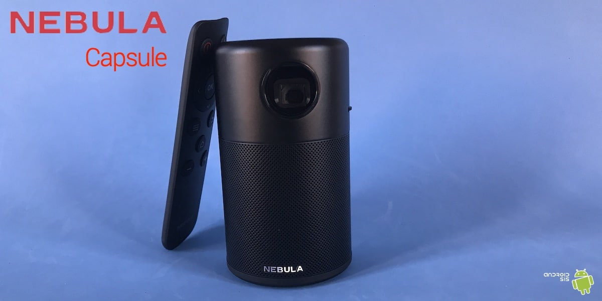 Review mini proyector NEBULA Capsule