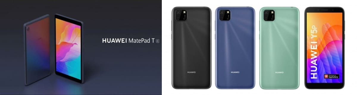 Huawei MatePad, Y5P Y6P