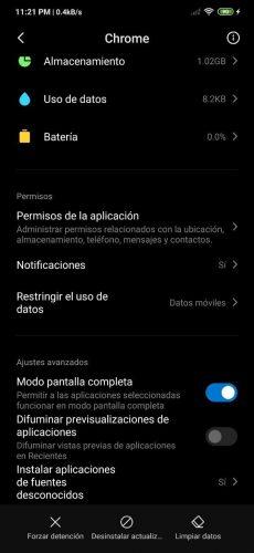 Administrar apps en MIUI de Xiaomi y Redmi