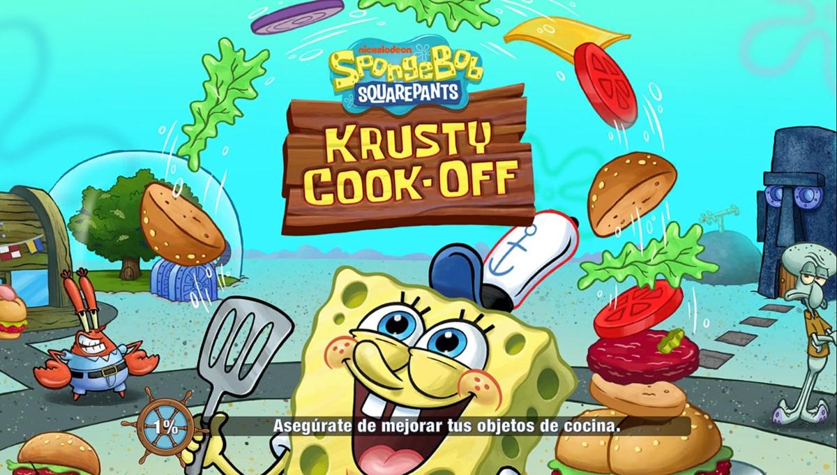Bob Esponja Concurso de Cocina