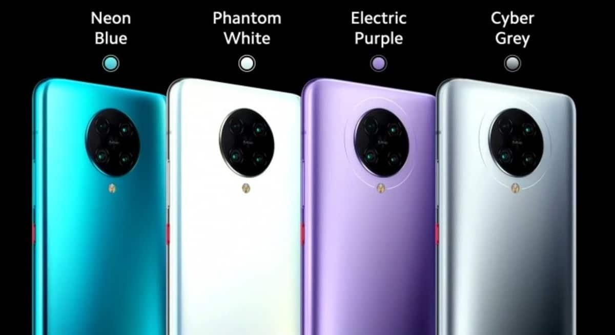 Pocophone f2 pro colores