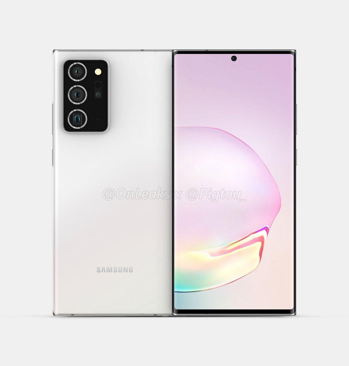 pantalla del Samsung Galaxy Note 20