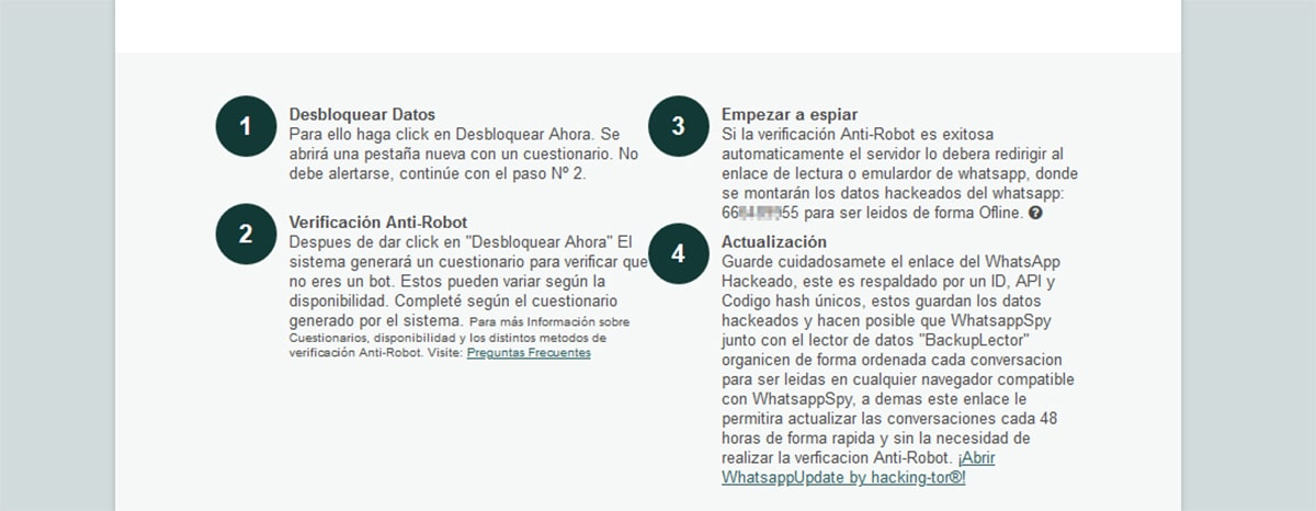 ¿Funciona Hackingtor para espiar WhatsApp?