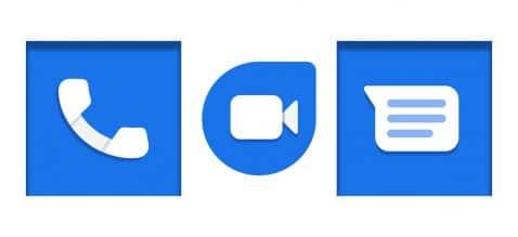 Google apps mensajería