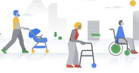 Accesibilidad de Google Maps