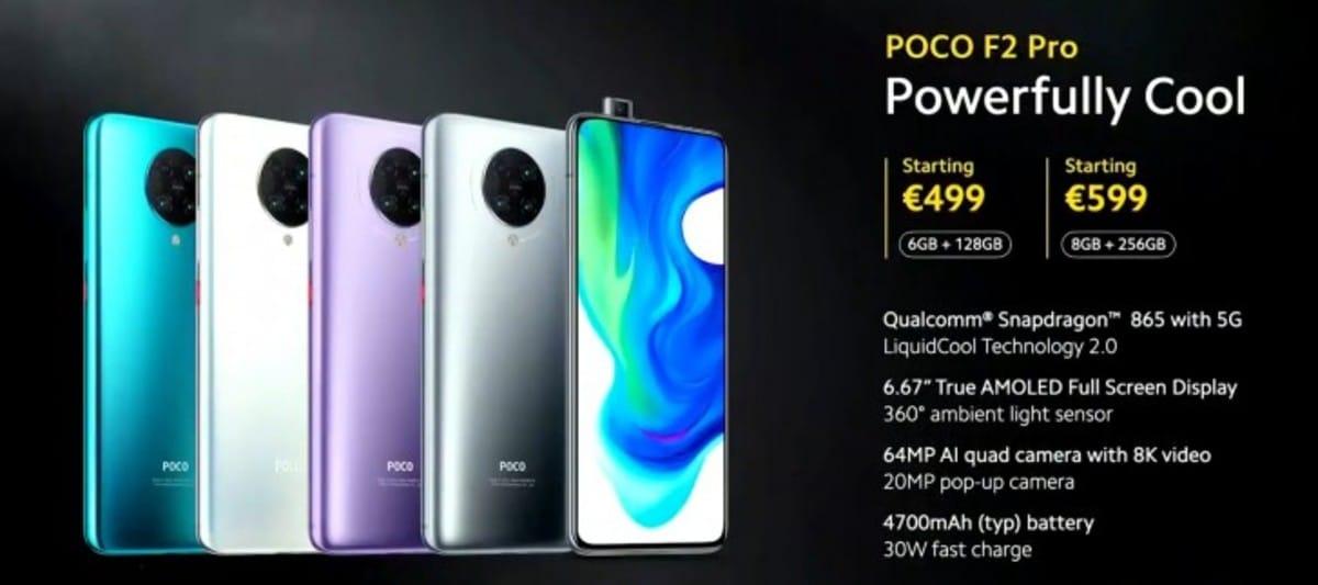 Poco F2 Pro precios