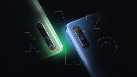 Serie Narzo 10 de Realme