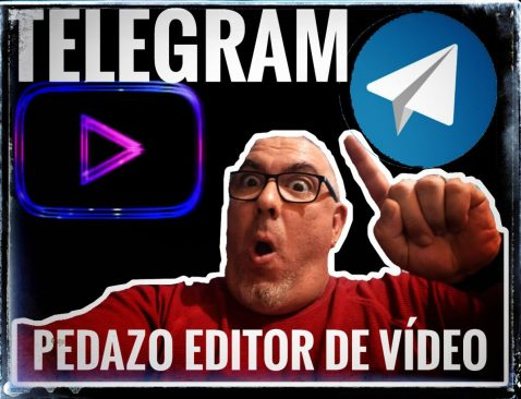 Telegram editor video pakomola