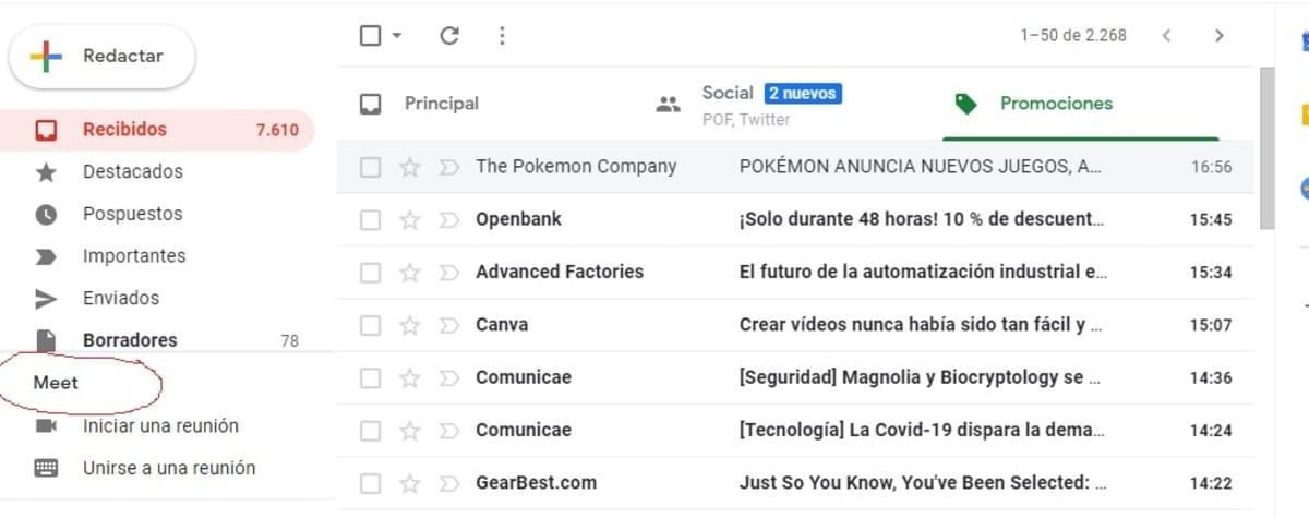 Meet Gmail