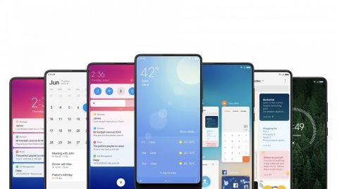 Móviles Xiaomi y Redmi con MIUI 12