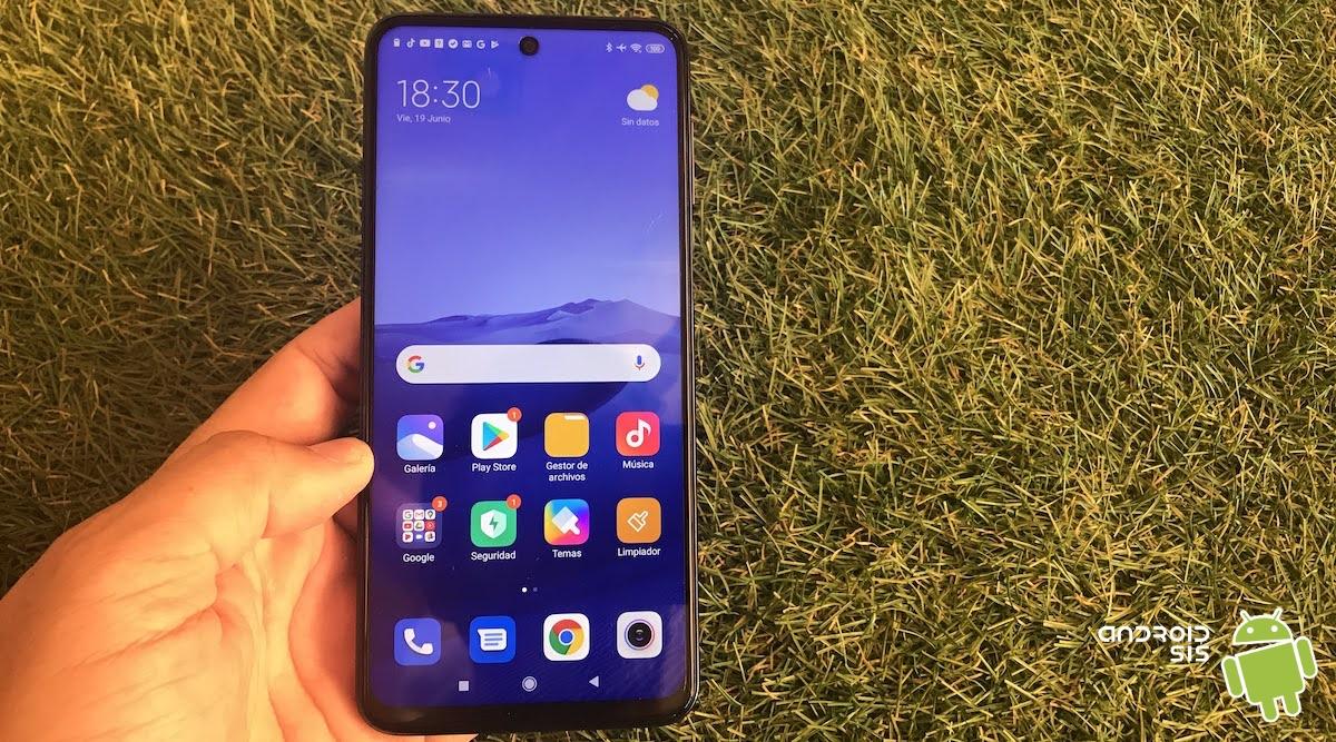Xiaomi Redmi Note 9 Pro pantalla