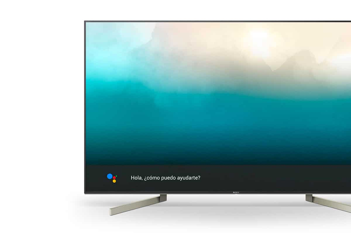 Android TV con Voice Match