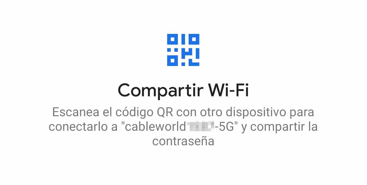 Compartir redes Wi-Fi Android