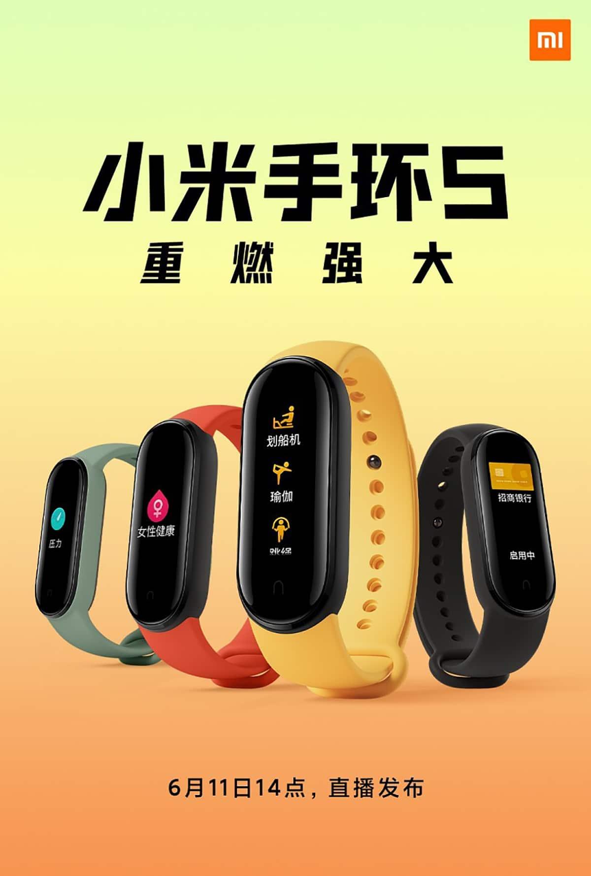 Mi Band 5 de Xiaomi