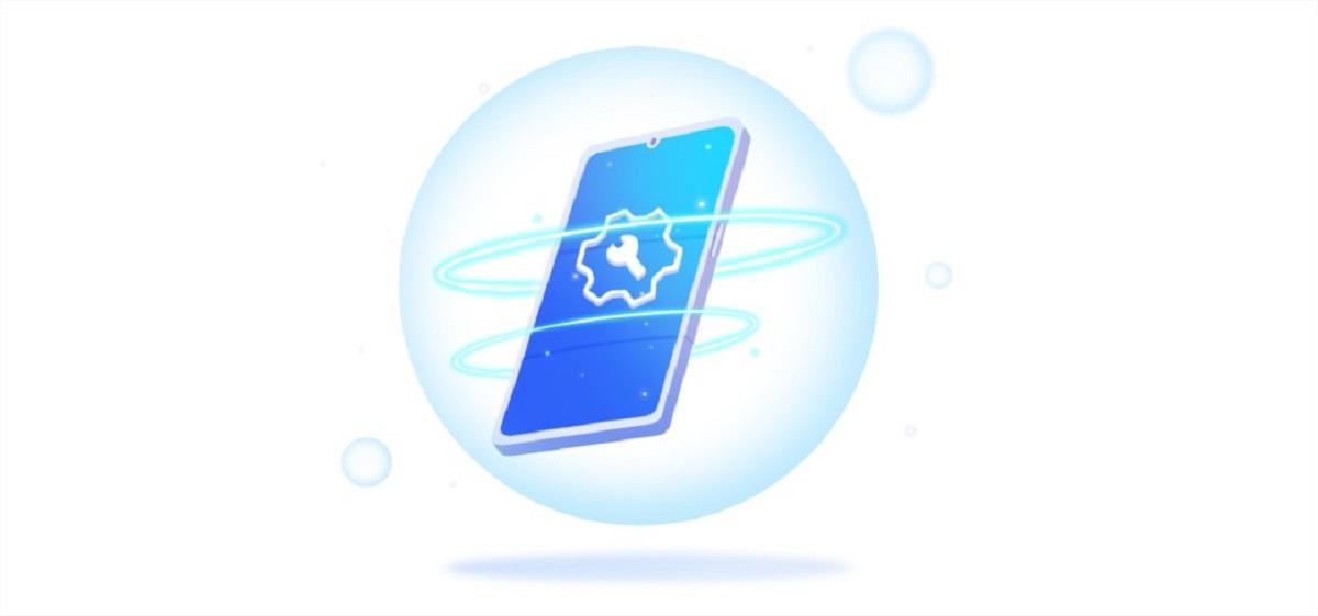 Modo mantenimiento Huawei