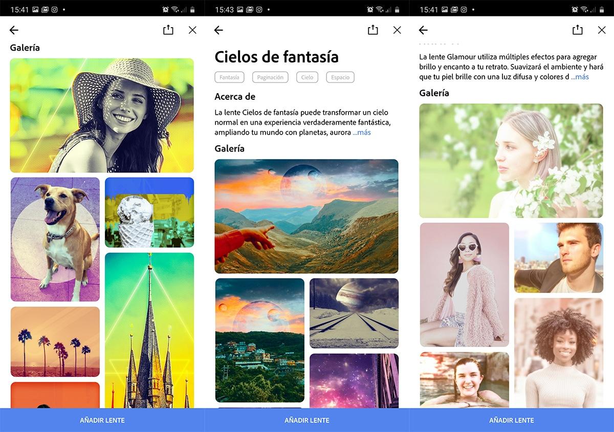 Los nuevos filtros de Adobe Photoshop® Camera