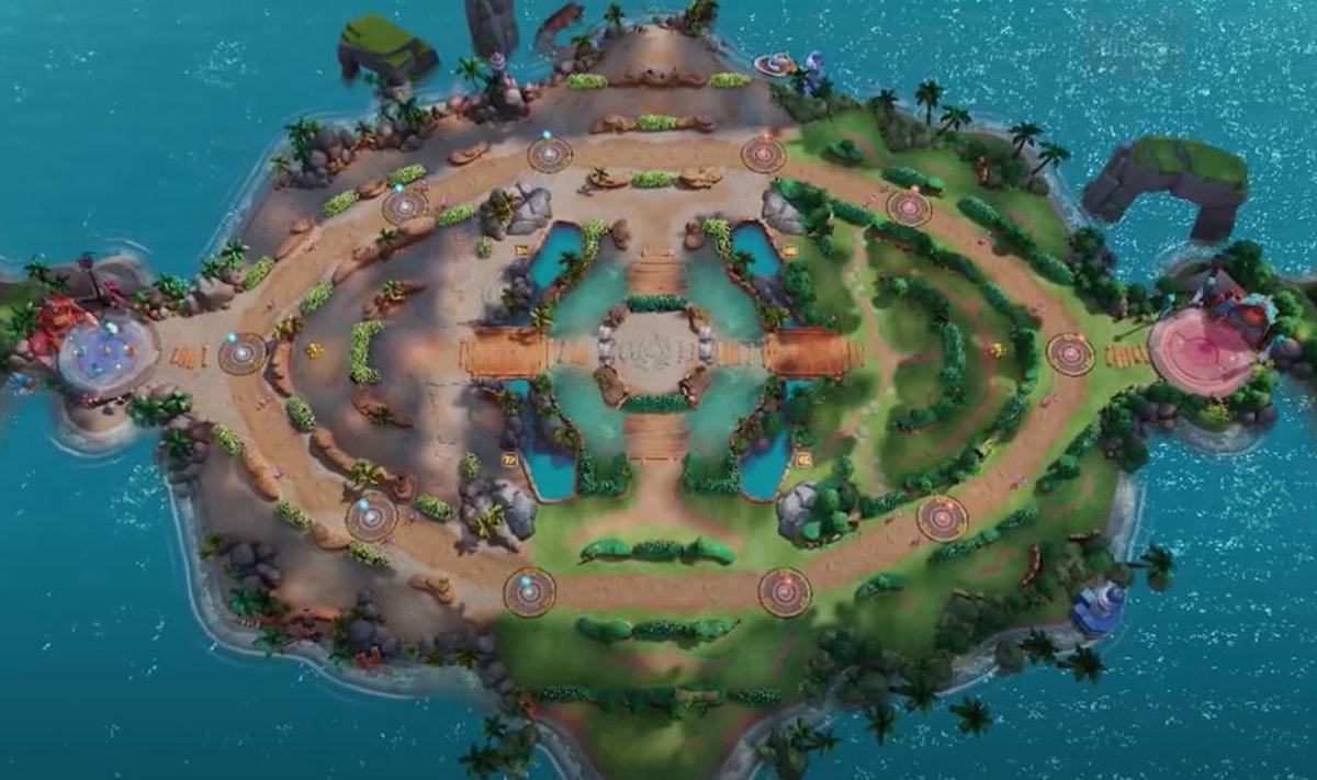 Mapa de Pokémon UNITE