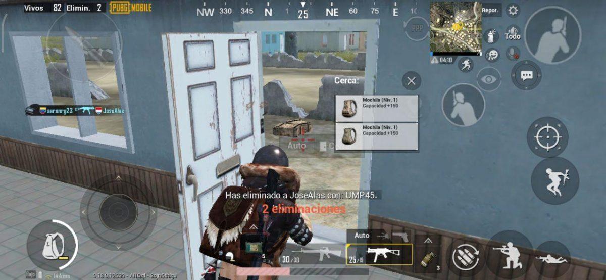 Eliminar a enemigos en PUBG Mobile