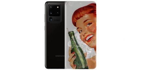 Samsung publicidad en sus móviles