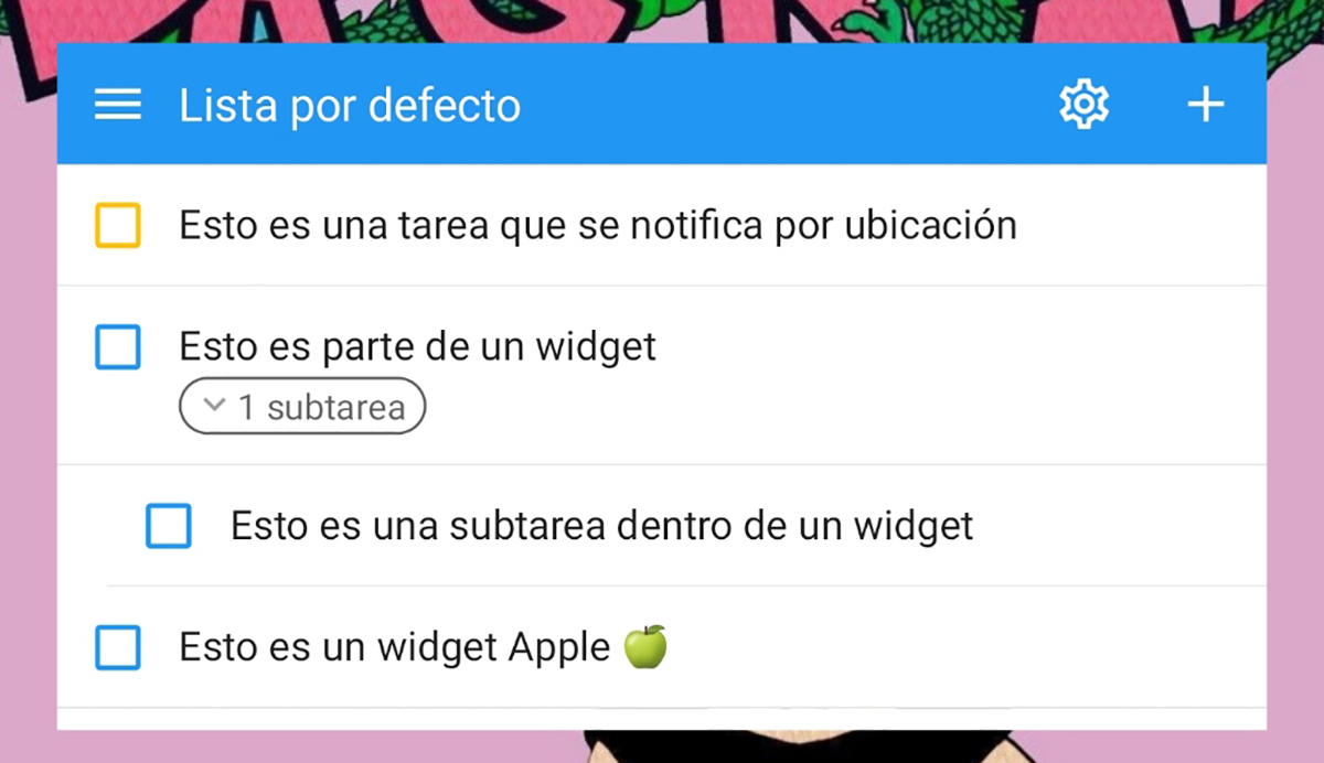 Widget en Android