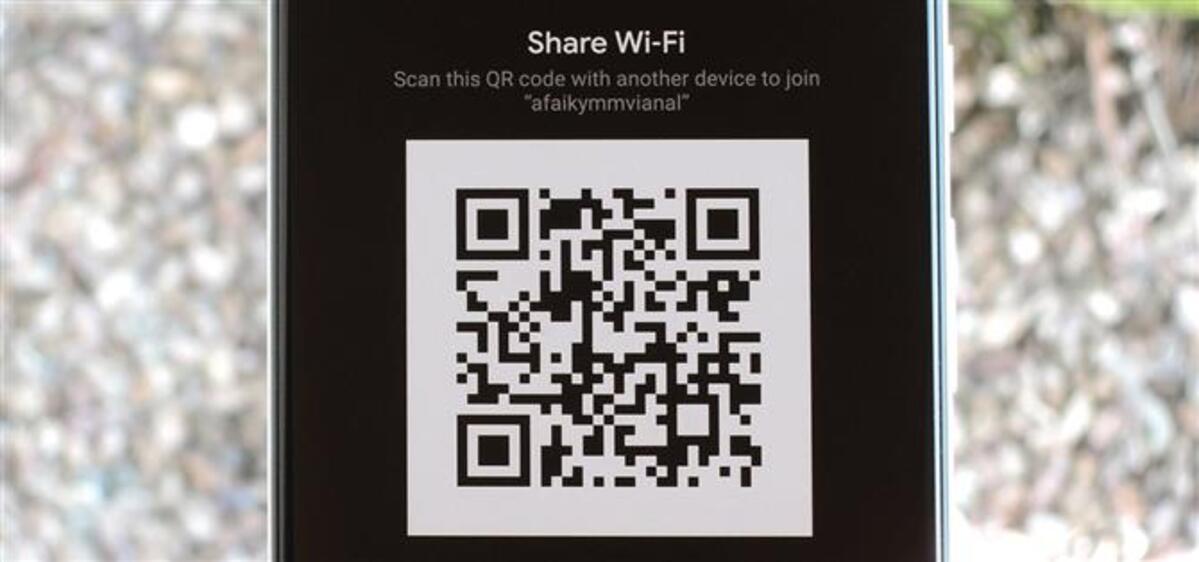 wifi qr