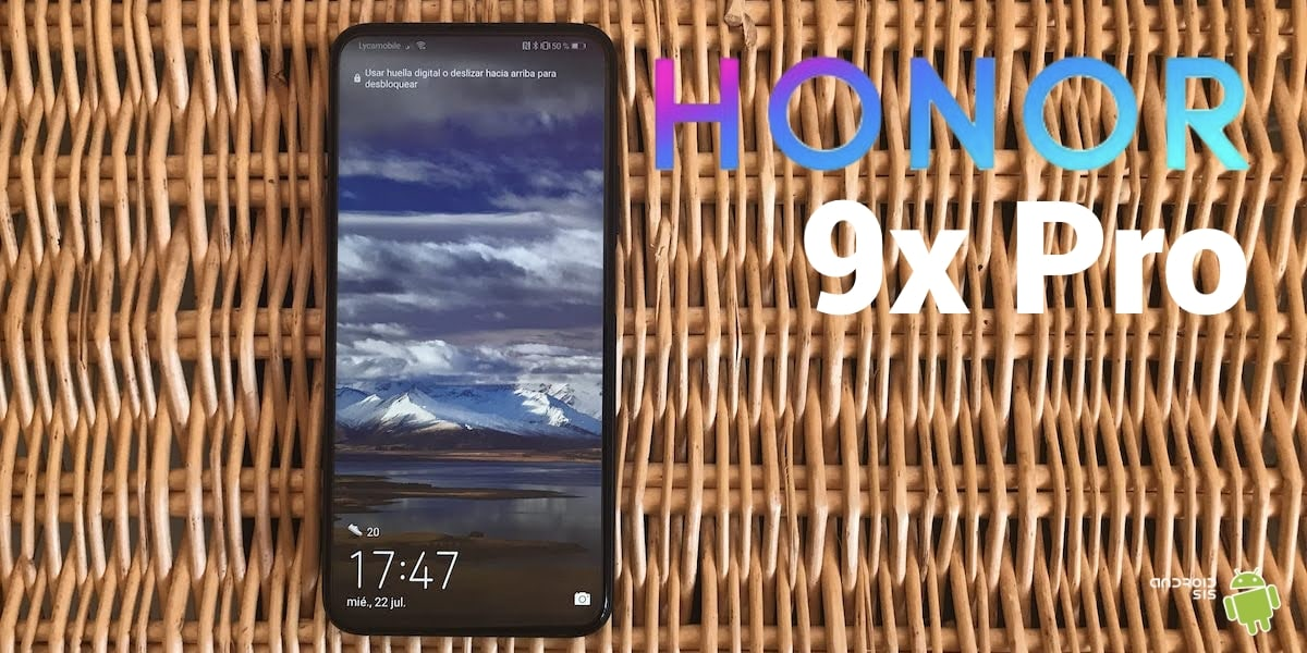 Honor 9X Pro portada