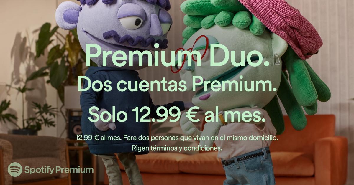 Spotify estrena Premium Duo: plan de suscripción para dos personas por 12,99? al mes