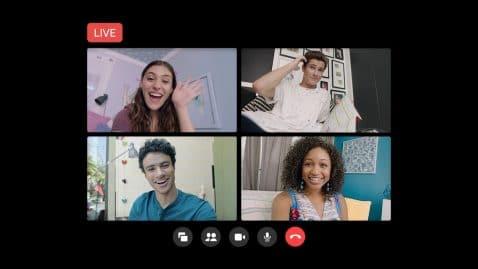 Messenger retransmitir en Facebook