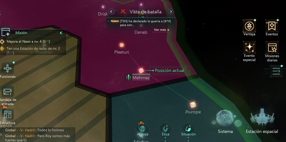 Universo en Stellaris