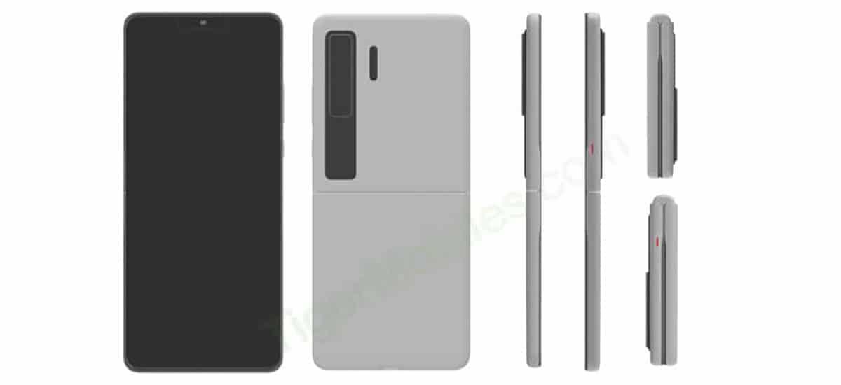 Smartphone Huawei tipo concha