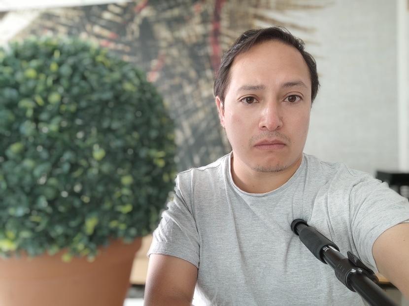 Modo bokeh de la cámara selfie del Mi 10(diez) Pro con errores de estimación