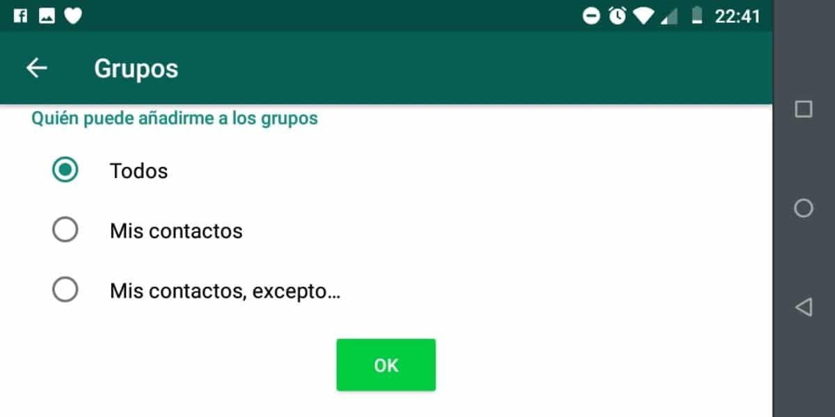 Añadir grupos WhatsApp