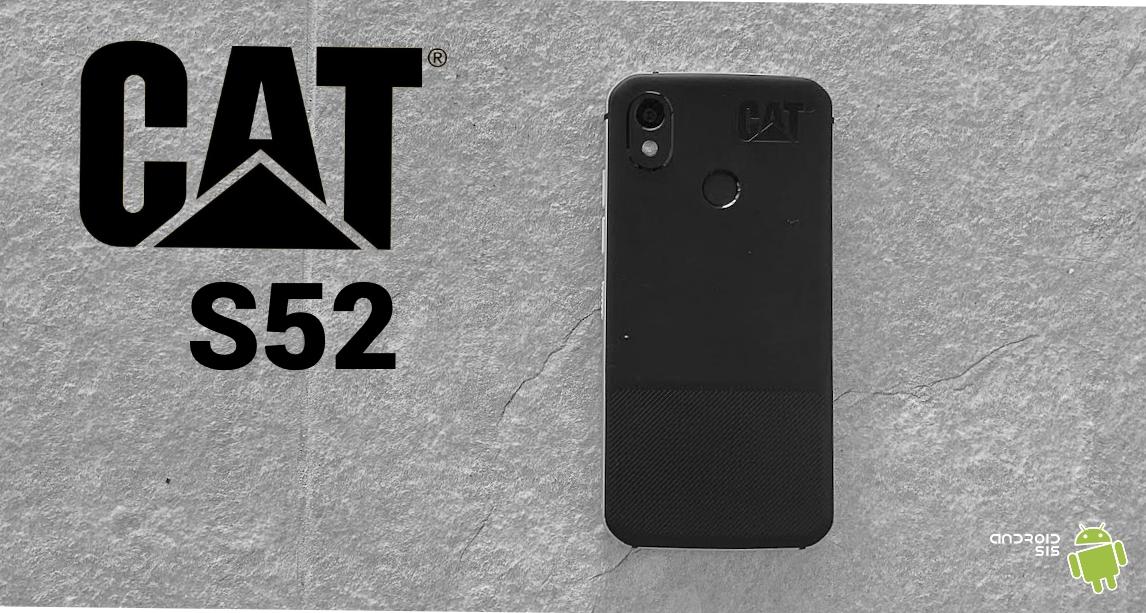 CAT S52 portada