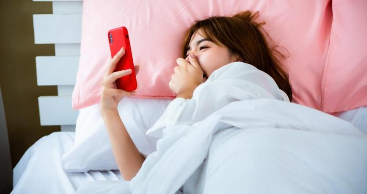 Dormir con el teléfono