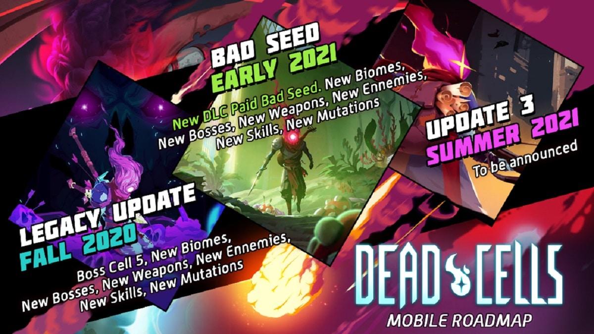 Roadmap de Dead Cells