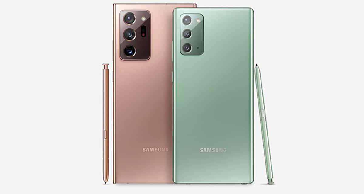 Galaxy Note 20 actualizaciones