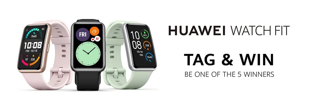 Nuevo reloj inteligente Huawei Watch Fit