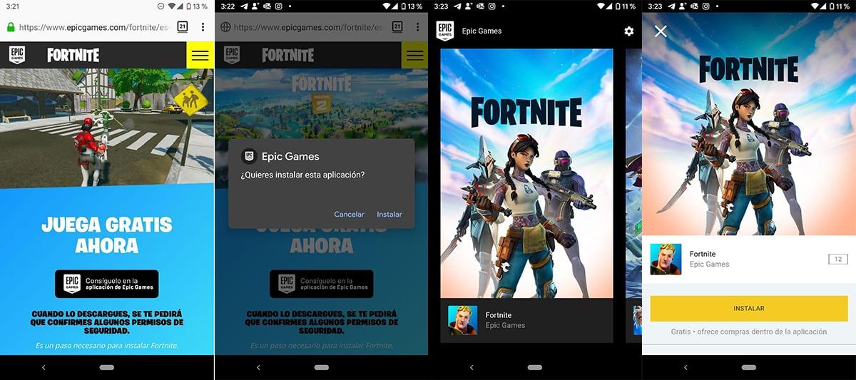 Instalar Fortnite en Android