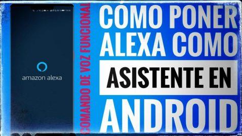 Alexa Asistente Android