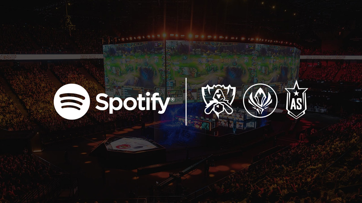 Spotify en Riot Games