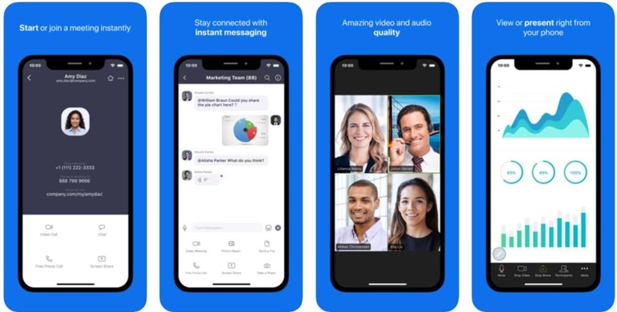 Aplicacion Android Zoom