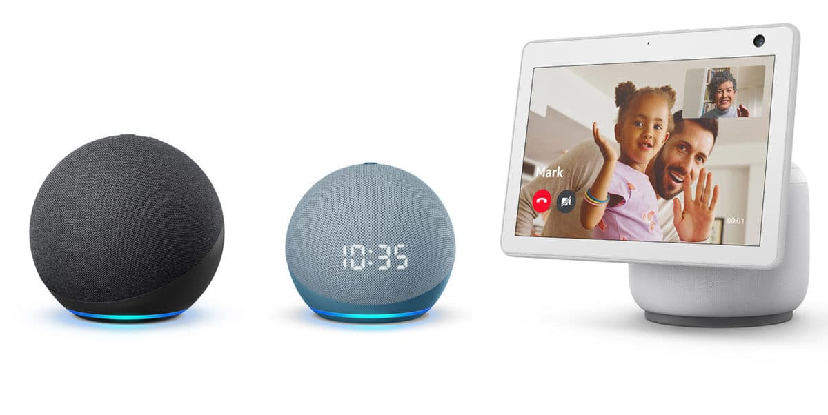 Amazon anuncia nuevos Echo, Echo Dot y Echo Show 10