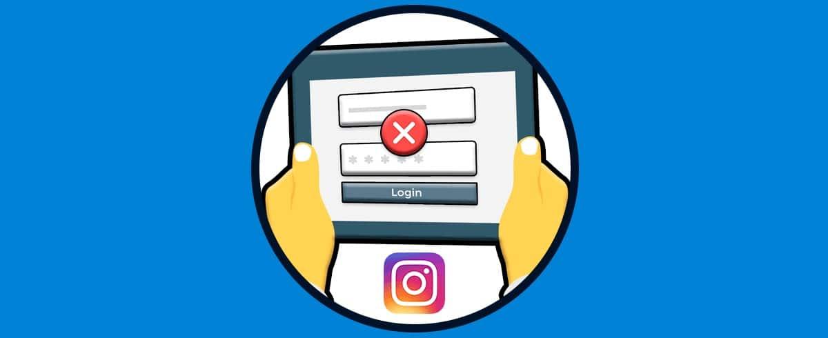 Cerrar sesión Instagram