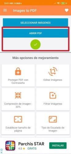 Cómo convertir fotos JPG en PDF en Android fácilmente