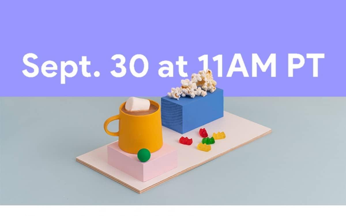 Google evento 30 Septiembre