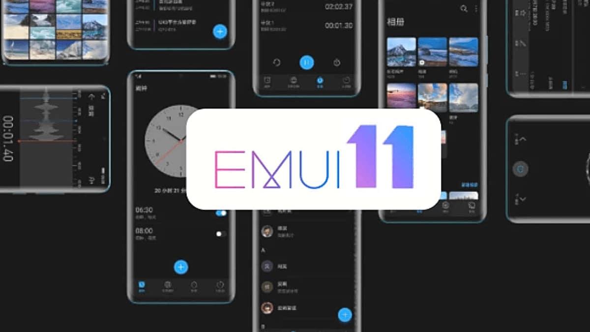EMUI 11 de Huawei