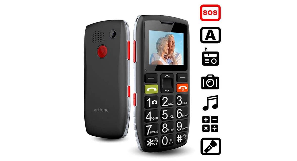Artfone C1 - Teléfono para mayores