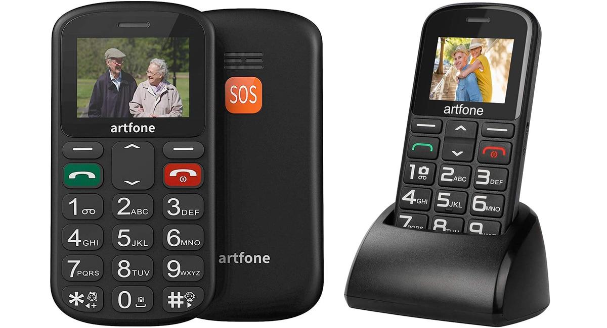 Artfone CS181 - Teléfono para mayores