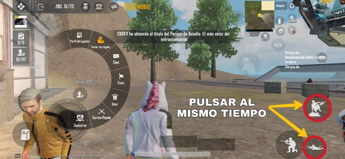 Cómo hacer el salto del tigre en PUBG Mobile