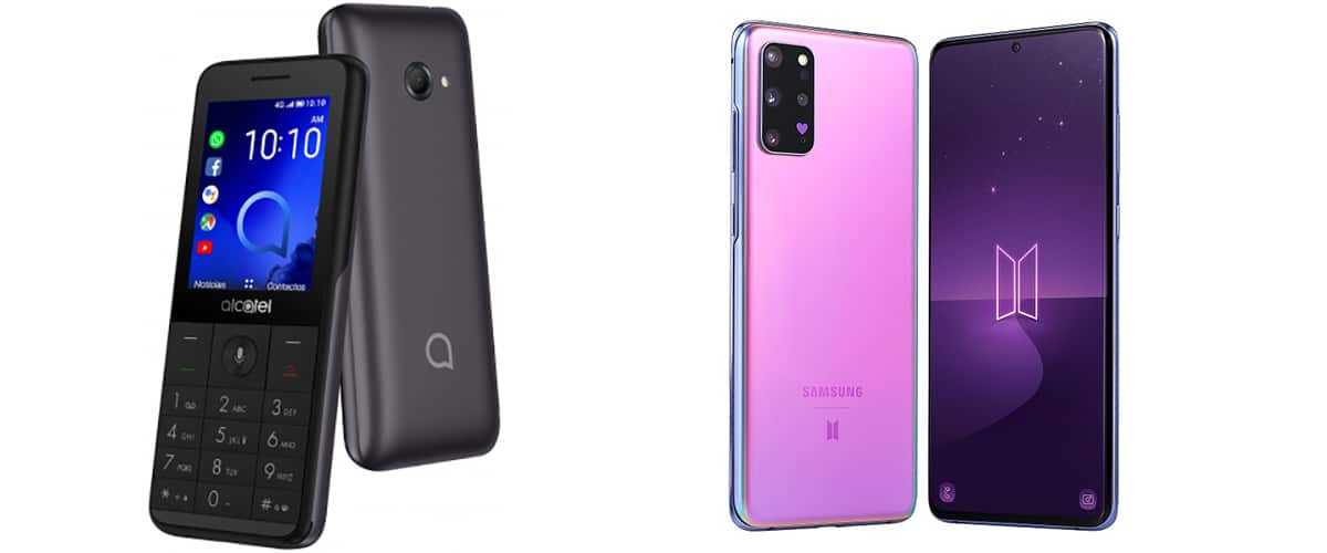 Teléfono básico vs smartphone
